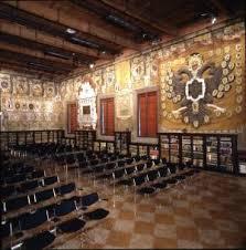l'antica sede dell'Archiginnasio di Bologna in p.zza Galvani